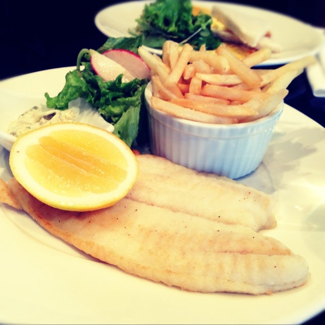 The Freshest Pan Fried Sole