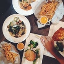 • Good food with great friends!