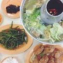 • 晚餐 with the family!