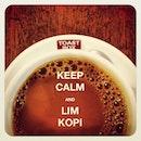 Keep Calm and Lim Kopi.