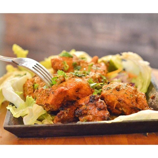 Chicken tikka - One of the must-try dishes includes a classic.