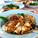 Inconspicuously located amidst the hawker stalls at Alexandra Village Food Centre, the soya sauce chicken was seriously good.