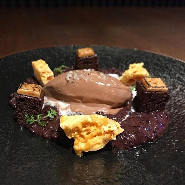 Frozen salted chocolate peanut.