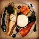 Kuhlbarra #barramundi and Boston #lobster with #squidink and garlic butter  #onemichelinstar #yesmichelinguide  #michelinguide  #8dayseat #burpple #eatoutsg #foodiesg #foodphotography #foodporn #foodpornsg #foodsg #foodstagram #hungrygowhere #igfoodies #instafoodsg #instafood_sg #sgeats #sgfood #sgfoodblogger #sgfoodie #sgfoodies #sgfoodporn #sgfoodunion #singaporefood #tslmakan #whati8today #yahoofood