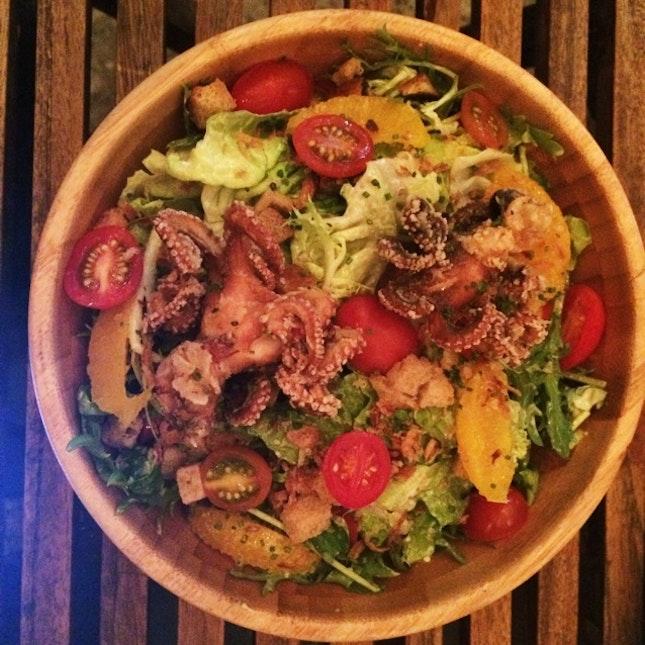 Sous Vide Octopus Salad