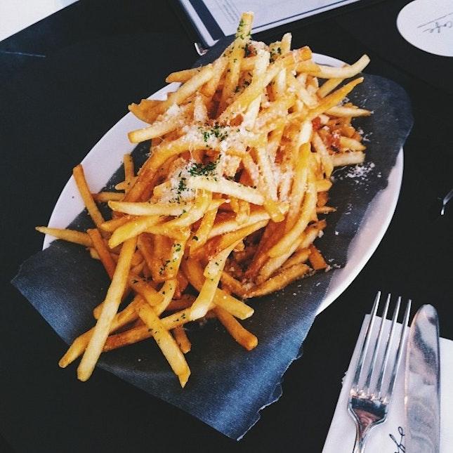Truffle Shoestring Fries