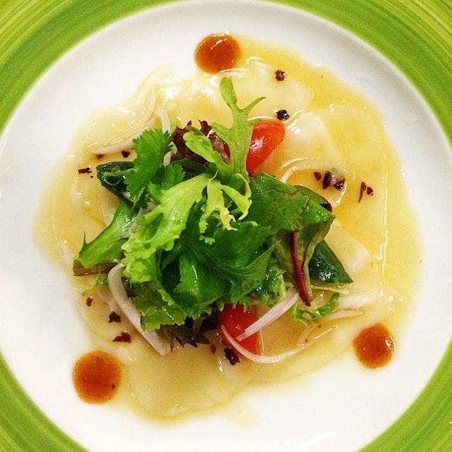 Raw Thai Fish Tiradito