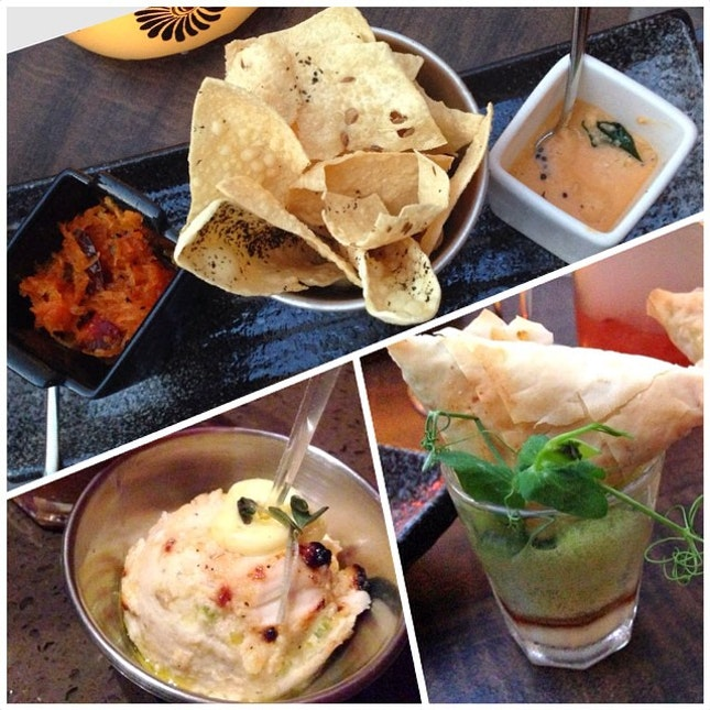 [Promotion] Thanks to @the_entertainer241, we got 2 Indian tapas free for 2 tapas ordered!