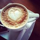 #coffee #latte #love #heart #instafood #iphonesia #photooftheday