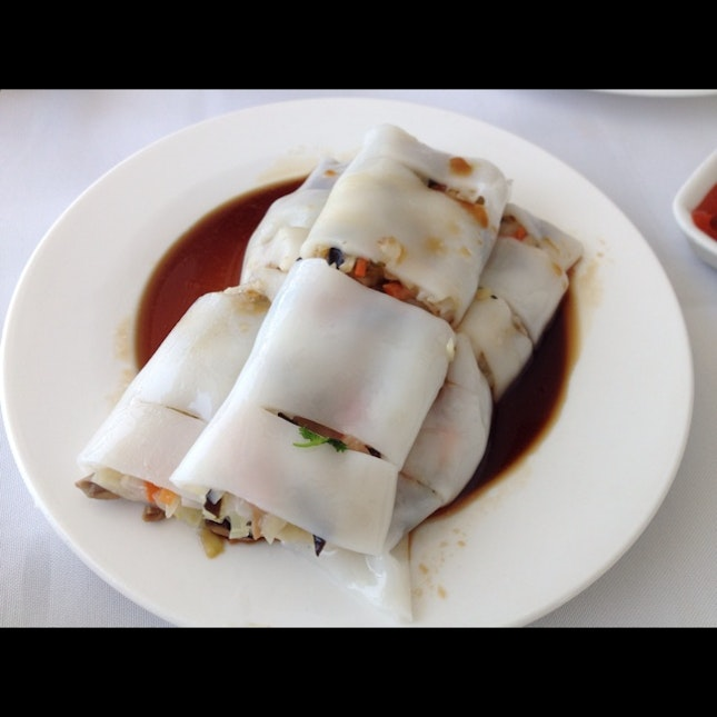 Vegetable Rice Noodle Roll