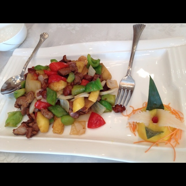 Chicken Stir-fry With Pineapple And Cashews