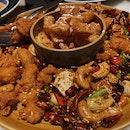 $16 Firecracker Chicken & Maple Fritters
