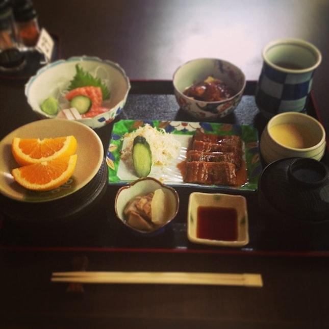 ❤ #japanese #sashimi #lunch