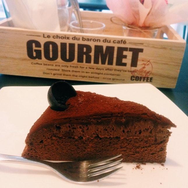 Flourless Valrhona Chocolate
