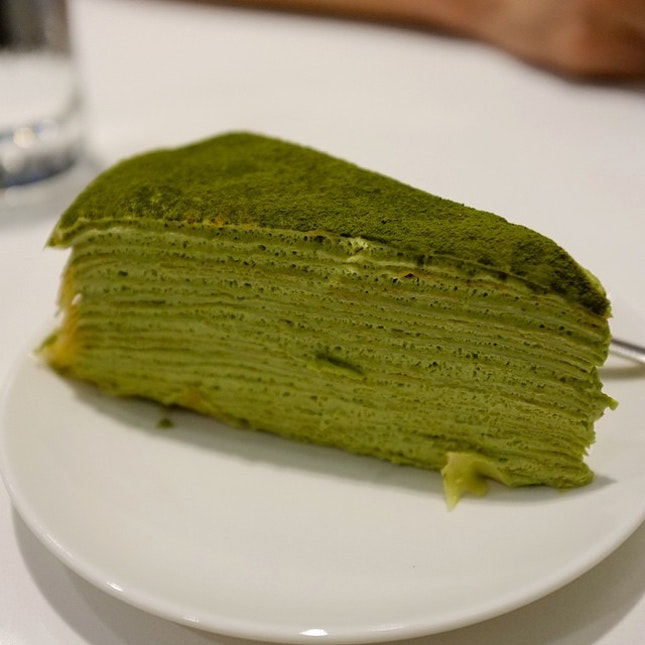 Matcha Milles Crepe from Lady M