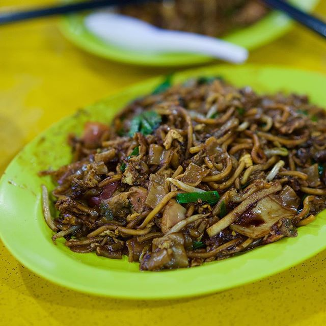 Zion road Char Kway Teow.