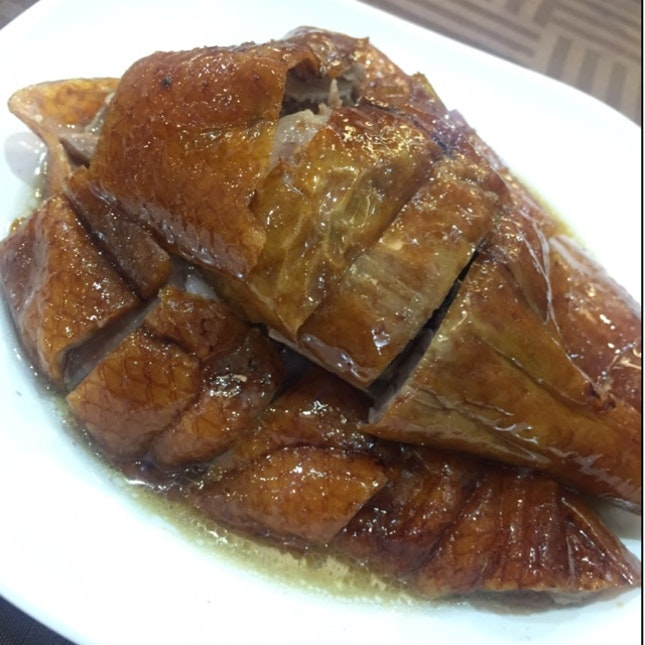 Roasted Goose!