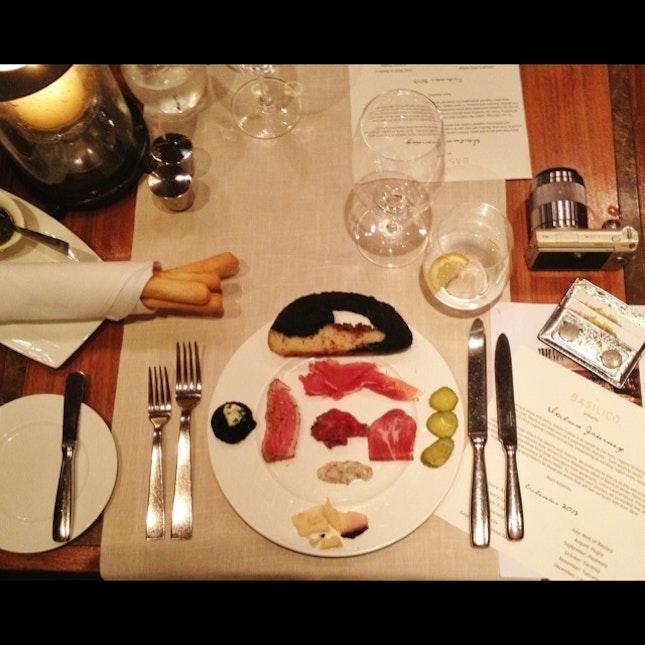 'Italian Journey' Semi-Buffet