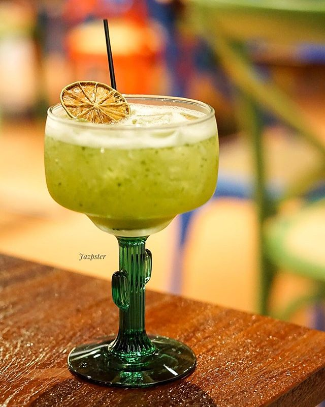 Nothing quite as refreshing as a cool cucumber-mint margarita!
