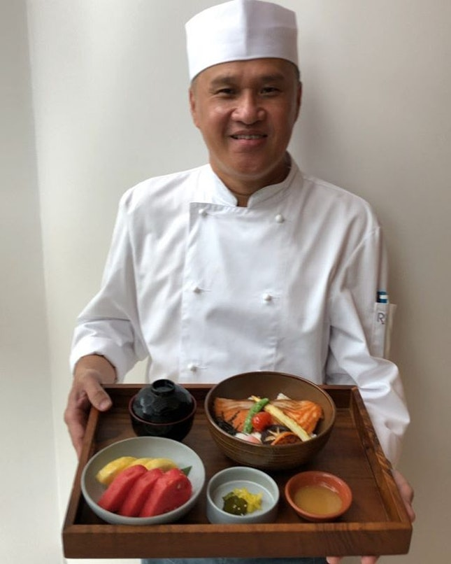 #AndazSingapore's new teppanyaki restaurant offers highly exclusive private chef dining experience in the evenings (min spend $1,500), but you'll find affordable Donburi set lunches (starts $22) at Teppan Chef's Table on weekdays.