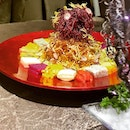 With a presentation looking like something right out of a gourmet anime, @LongBeachSeafood's Prosperity Fresh Fruit #YuSheng is a feast for the eyes and tummy.