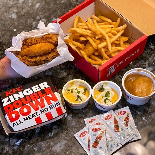 Feel this version of Double Down is @kfc_sg's best yet.