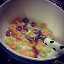The hungry monster is hungry #colourful #kelloggs #frootloops #igsg #foodie