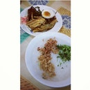Becoz today i feel like eating #buburkampung #porridge #foodie #foodporn #lunch #whatieattoday #foodgasm #yummy