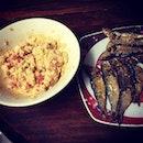 #instapic #instagood #instadaily #instafood #breakfast #tuyo #saltedegg #breakfast