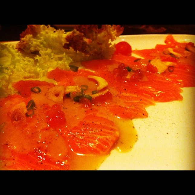 Something different from the usual salmon sashimi