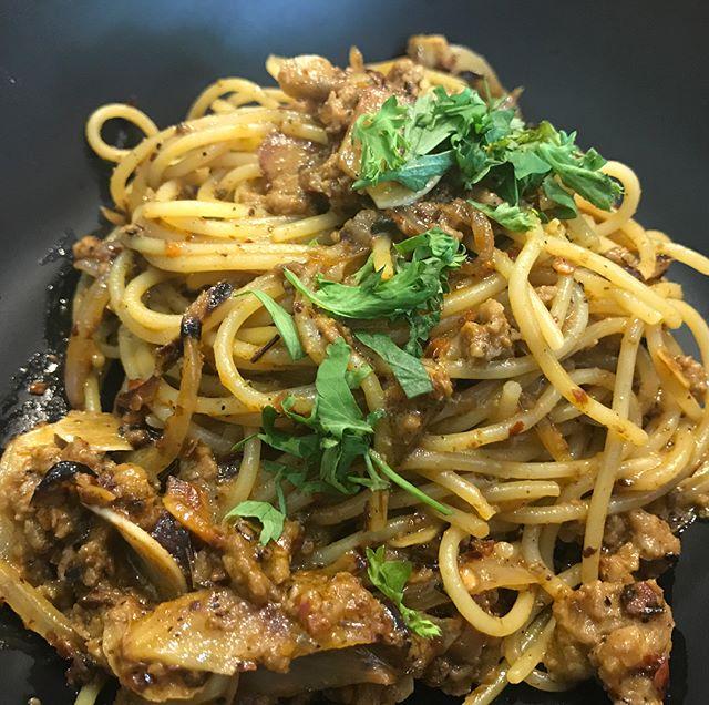 Rendang Bolognese, Kraving Ayam Bakar and Polo chicken.