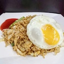 Maggie Goreng Plain With Egg - $4.60