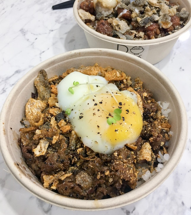 Very Meaty Rice Bowls