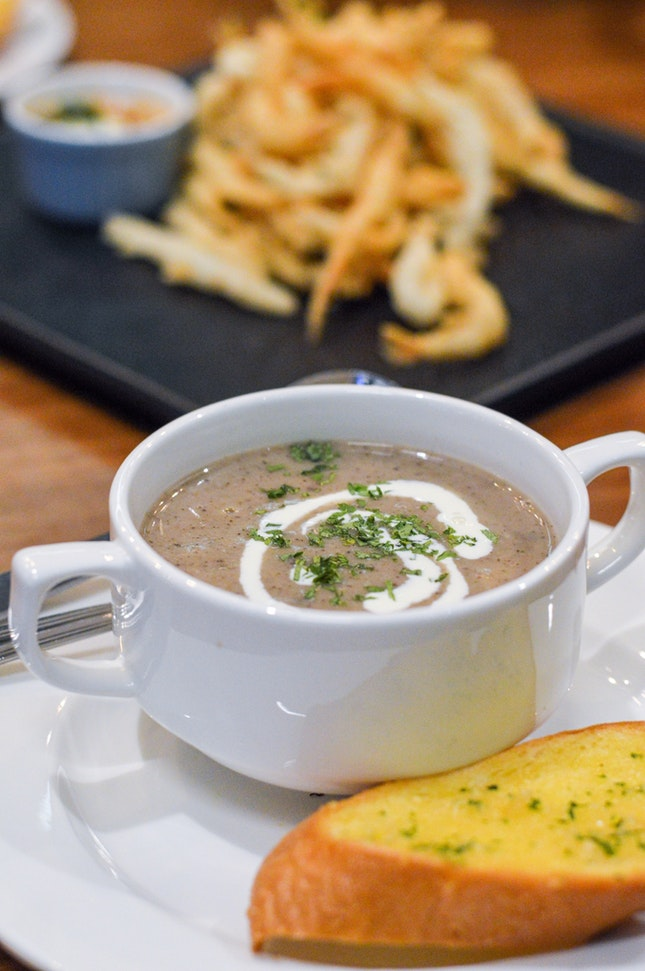 Soup Of The Day ($3.50)