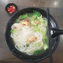 Mixed Fish Bee Hoon Soup