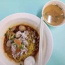 Pork noodles.