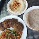 Hummus and Falfel Set