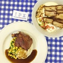 We stumbled upon a hidden gem- affordable french food below a hdb foodcentre setting.