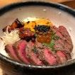 Delicious Wagyu Foie Gras Bowl