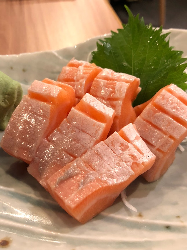 Salmon Belly
