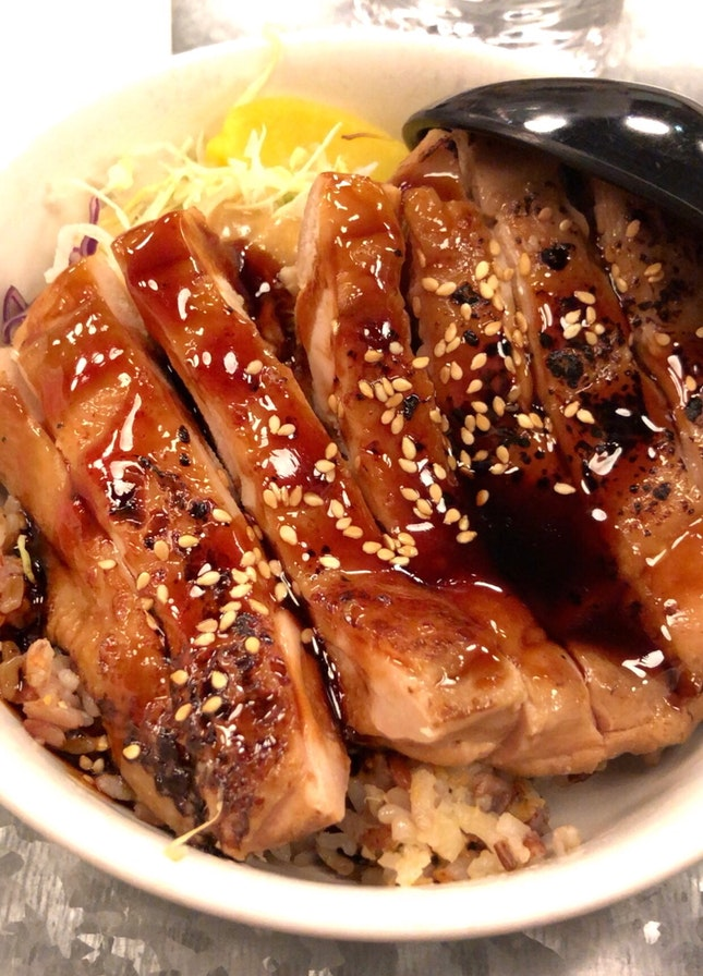 Teriyaki Chicken Don