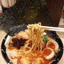Spicy Miso lobster broth ramen