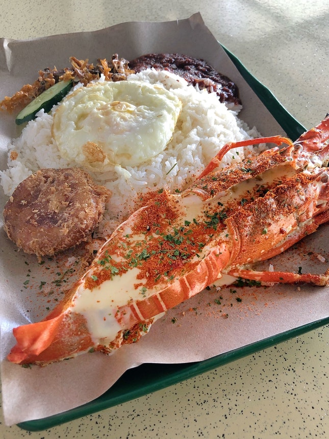 Lobster Nasi Lemak