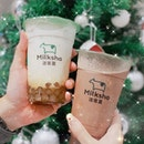 🎄🥤 @milksha_sg opens its fourth outlet at @funansg 🎄🥤Check our their Christmas beverage series- ice blended cocoa and ice blended cocoa mint.