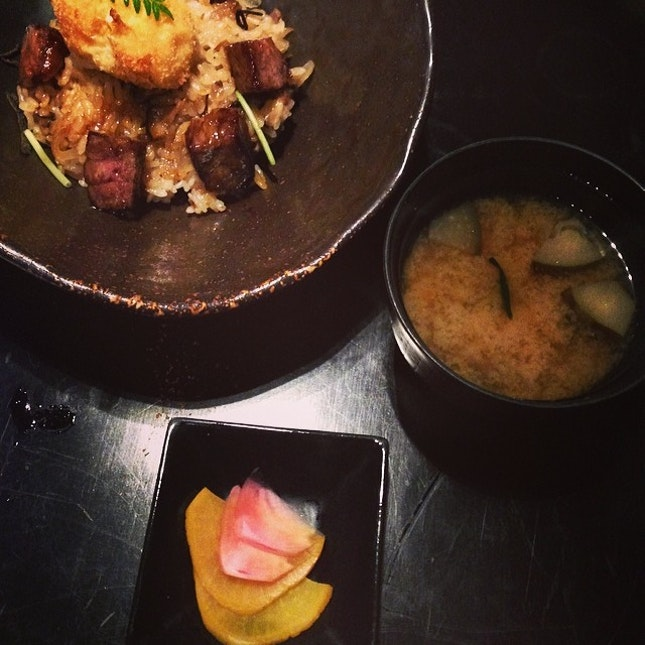 Wagyu beef don | the legendary kagoshima 🐮 and no other #foodporn #mikuni