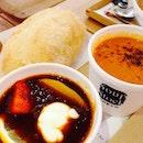Tokyo borsch x crab bisque | not great  #foodporn #soupstock
