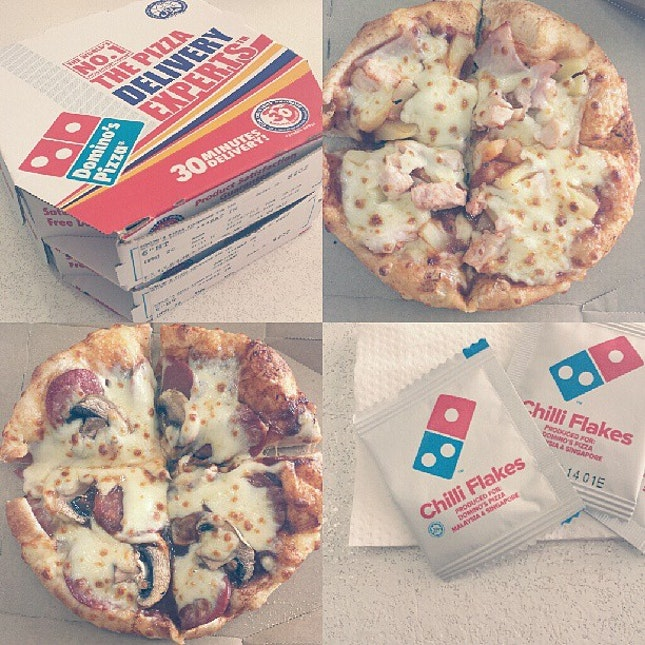 Domino's Personal-sized Pizzas