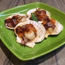 Bacon Wrapped Scallops w/ Chilli $8