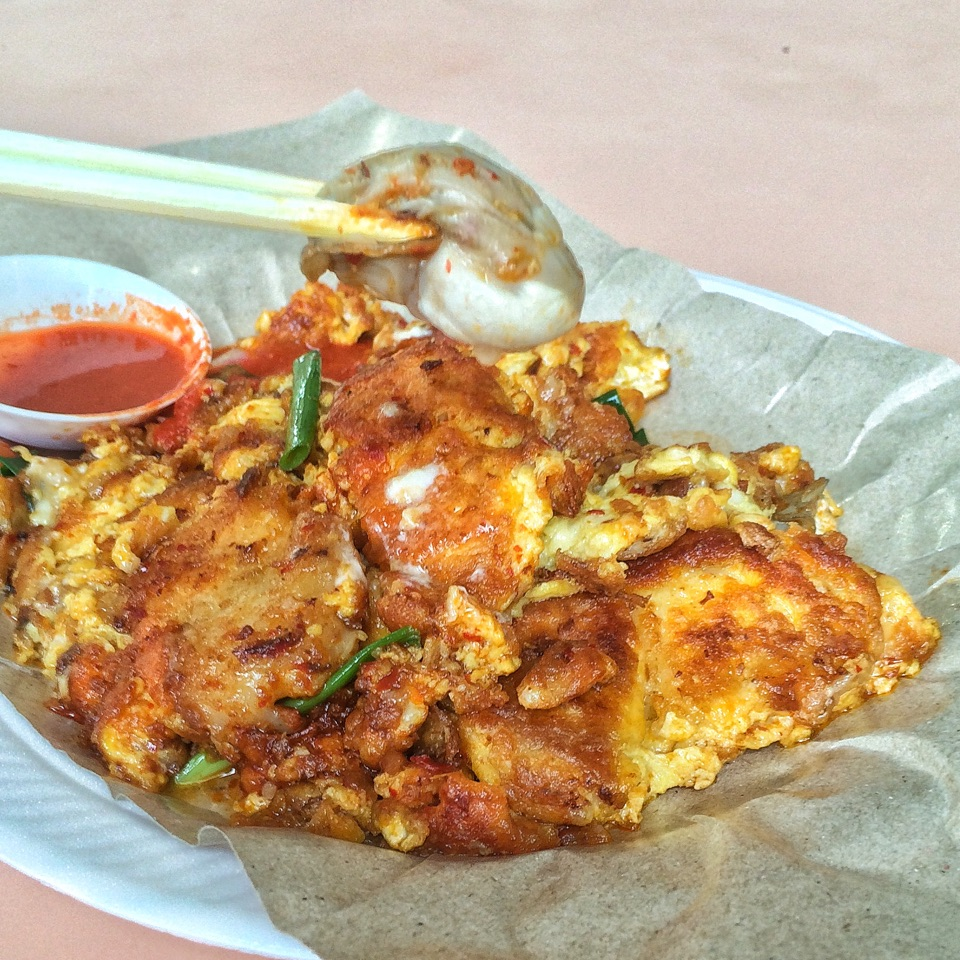 Oyster Omelette $6