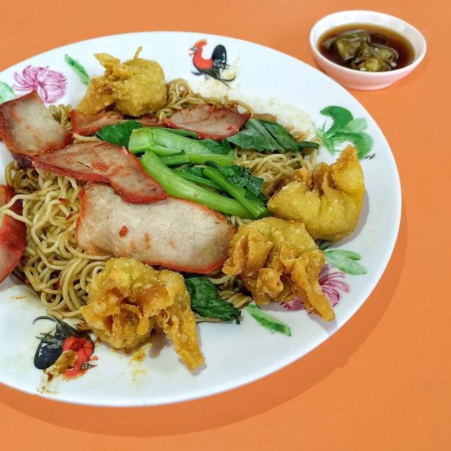 Wanton Noodles $3
